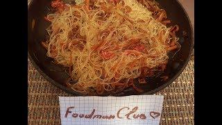 Фунчоза с овощами в соевом соусе: рецепт от Foodman.club