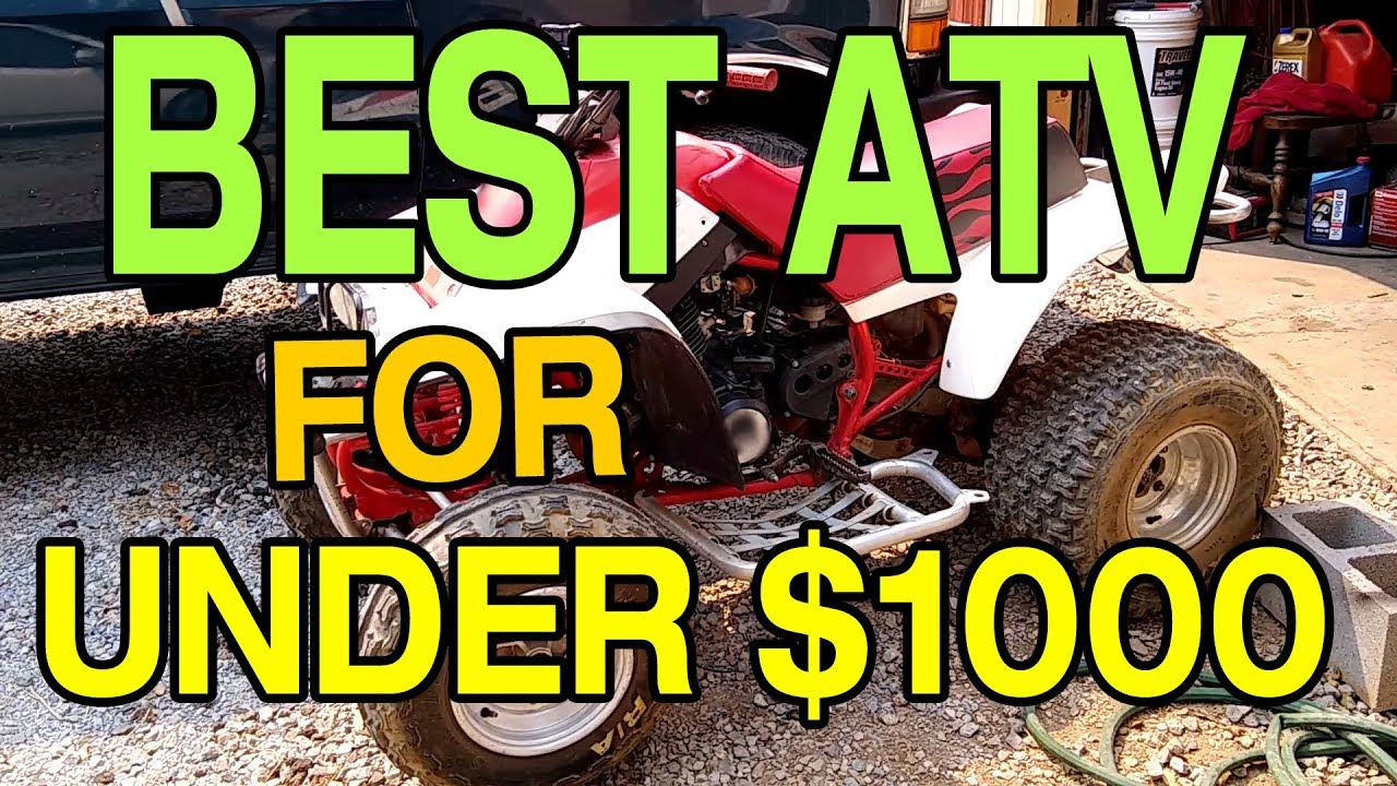 Cheap Four Wheelers For Sale >> Best Used Atv For Under 1000 Dollars Cheap Trail Riding Four Wheeler Project