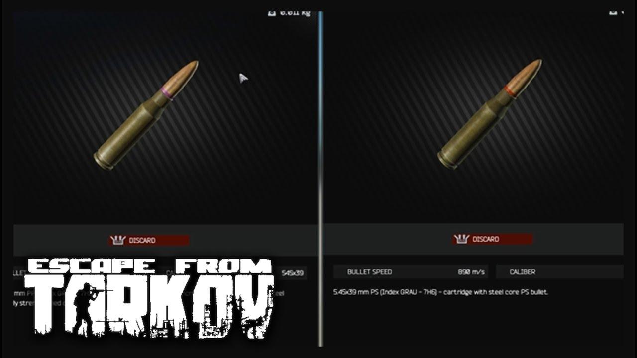 Escape from Tarkov Ammo