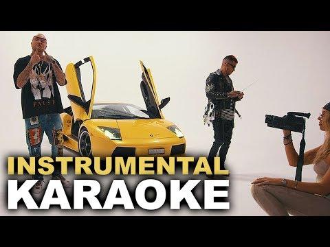 Guè Pequeno ft. Sfera Ebbasta: LAMBORGHINI (Karaoke - Instrumental)