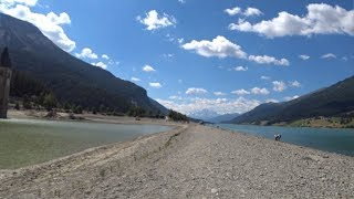 70 Minute Virtual Cycling Workout Alps Austria - Italy Ultra HD 4K Video