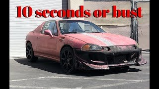 We Build The CHEAPEST 10 SEC HONDA EVER !