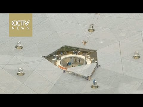 World's largest radio telescope nears completion in China