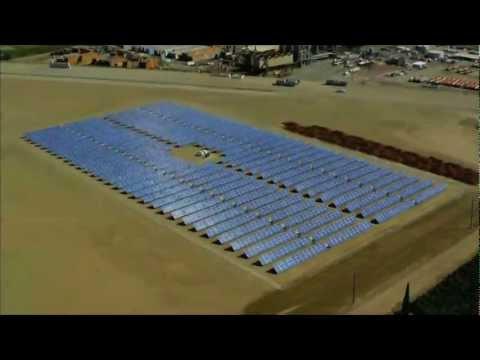 1 Megawatt Solar Power System - Flyover
