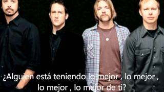 Foo Fighters - Best Of You (Subtitulada al Español)