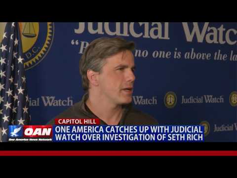 One America Speaks with Judicial Watch over Investigation into Murder of Seth Rich