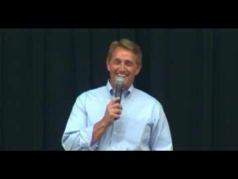 Jeff Flake spars with 16yo girl over his defuning Planned Parenthood