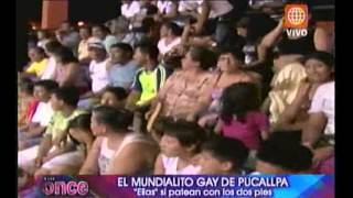 A las Once: El mundialito gay de Pucallpa- 14/11/2012