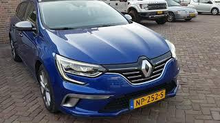 Renault MEGAN 4 Gt Line Автопідбір Автопригон Авто з Європи Авто з Нідерландів