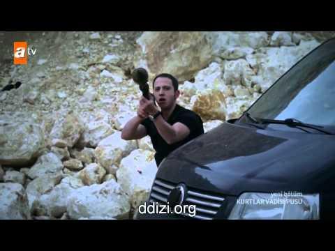Kurtlar Vadisi Pusu 201.Bölüm Çatışma Sahnesi   İLK SAHNE HD 720p