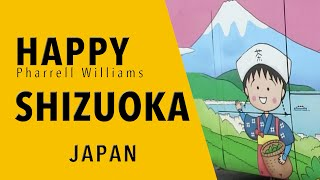 Shizuoka is also happy !! by Pharrell Williams. 静岡から世界へHAPPY...