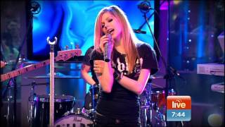 Avril Lavigne - What The Hell @ Live on Sunrise 31/03/2011