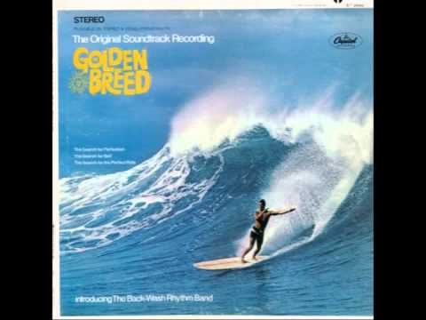 """Surf Movie Soundtrack -- """"The Golden Breed"""" (Capitol) 1968"""