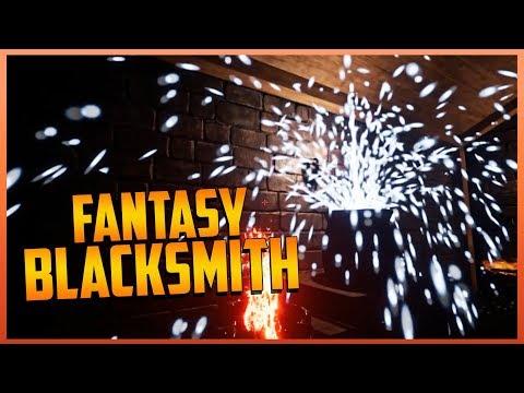 Fantasy Blacksmith - Let'S Play - Simulator