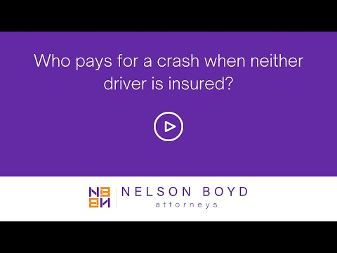 Who pays for a crash when neither driver is insured? | Personal Injury Law | Seattle, WA
