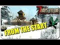 Off To A Good Start! | 7 Days To Die Solo Survival [Navezgane] Lets Play Episode 1 | Alpha 16.4