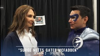 Video S2 Ep 5 Big City Chronicles – Surge Meets Gates McFadden – Surge of Power download MP3, 3GP, MP4, WEBM, AVI, FLV Mei 2018
