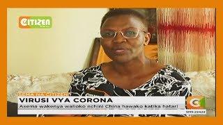 Balozi Sarah Serem awaondolea wakenya hofu ya kuambukiza na virusi vya Corona