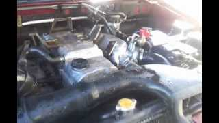 Pajero 3.2 idle butterfly mechanism