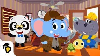 Dr. Panda TotoTime | Detective Olette | Full Episode 8 | Kids learning video