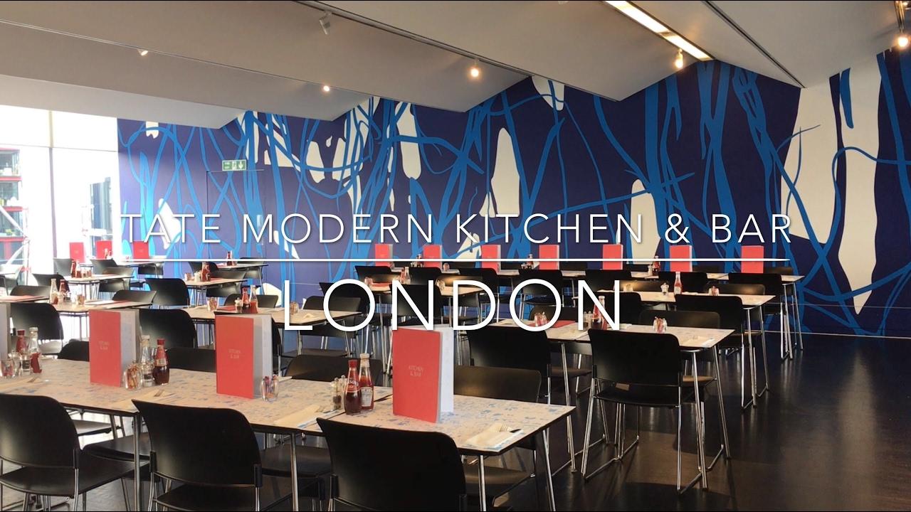 Tate Modern Kitchen & Bar, London - YouTube