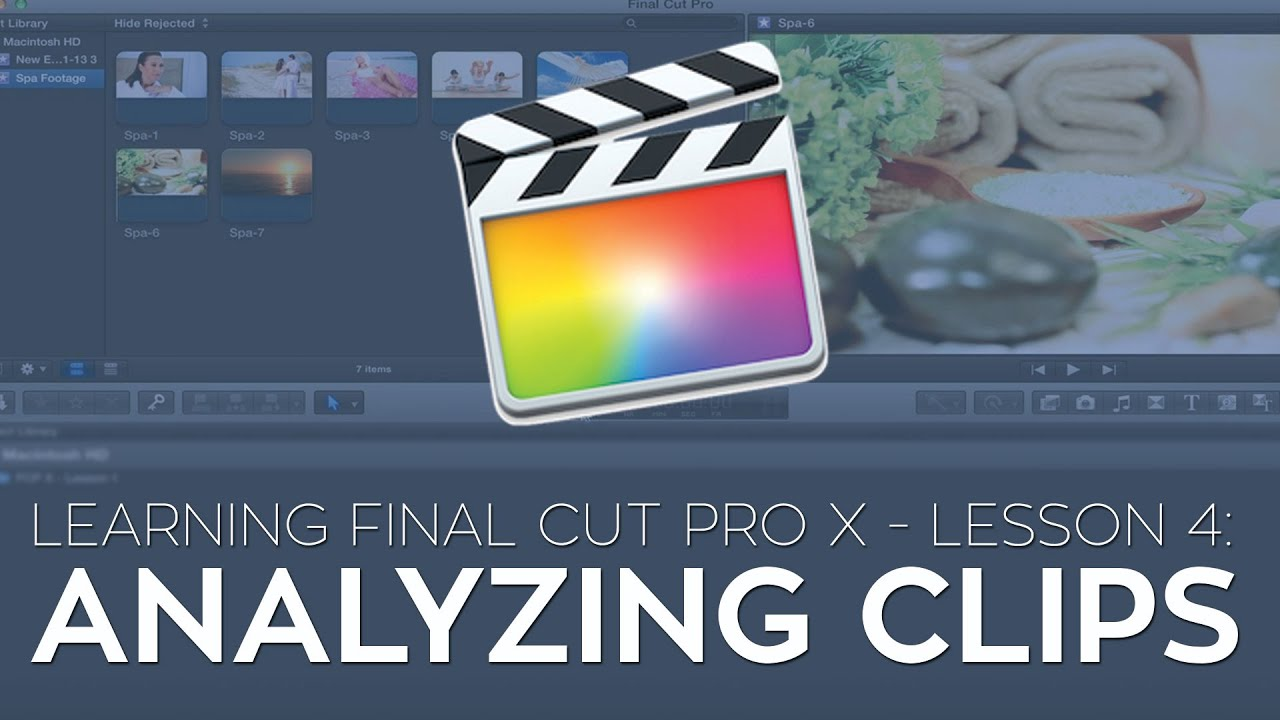 how to remove clips from final cut pro x