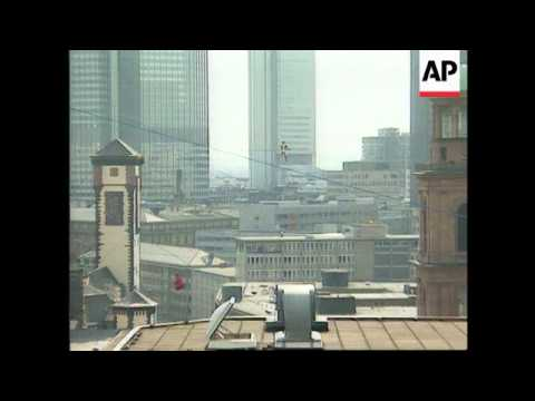 Germany - Philippe Petit French High Wire Artist