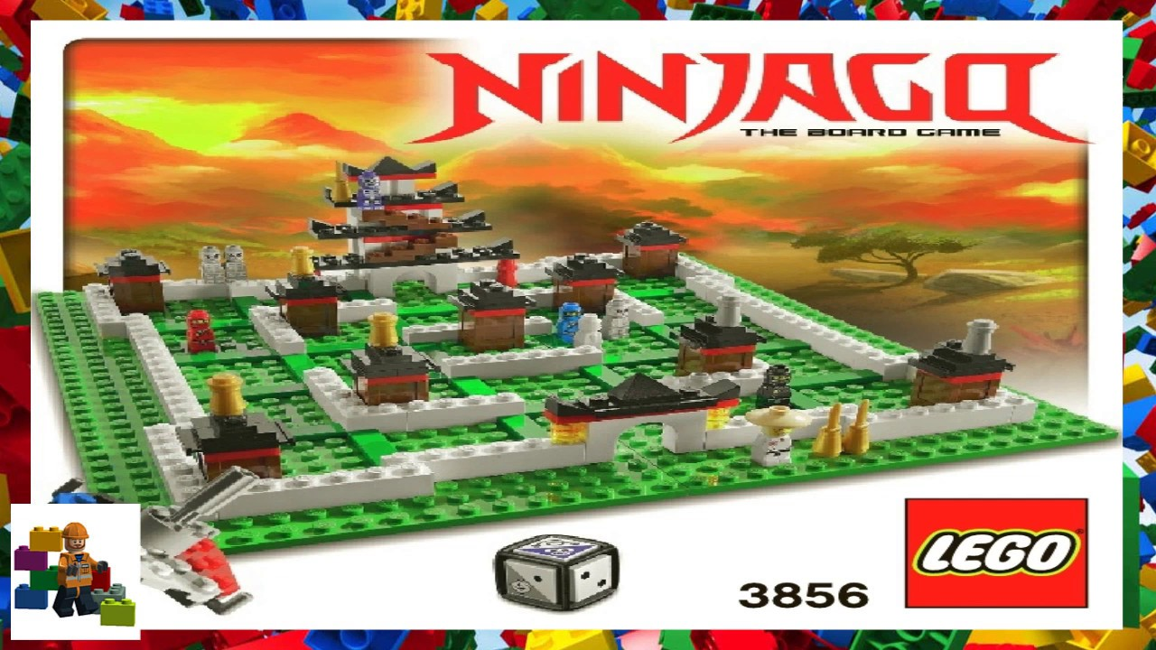 LEGO instructions - Games - 3856 - Ninjago The Board Game ...