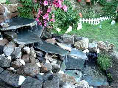 cascadas y jardines perfu youtube
