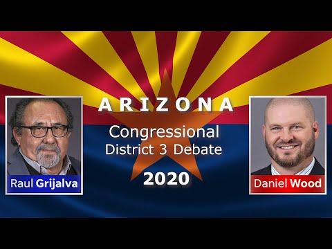 Arizona Congressional District 3 Debate, Rep. Raul Grijalva (D) And Daniel Wood (R)