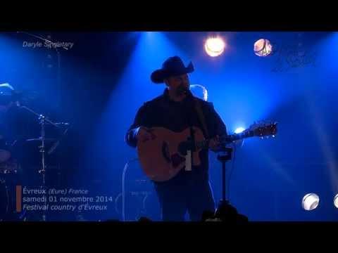 Country Road, Daryle Singletary samedi 01 nov 2014, festival country AEP le Sentier Évreux France