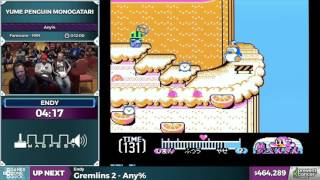 Yume Penguin Monogatari by endy in 10:06 - Awesome Games Done Quick 2017 - Part 79
