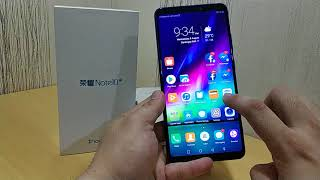 Huawei Honor Note 10 Quick Unboxing