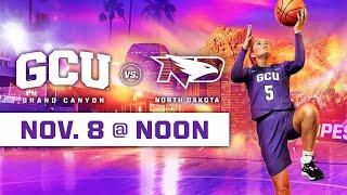 GCU Women's Basketball vs North Dakota November 8, 2019