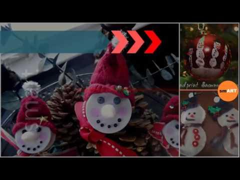 Snowman Ornaments - Christmas Lawn Ornaments
