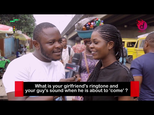 What Sound  Does Your Partner Make When They Want To 'Cum'? - DelarueTV | Street'ish