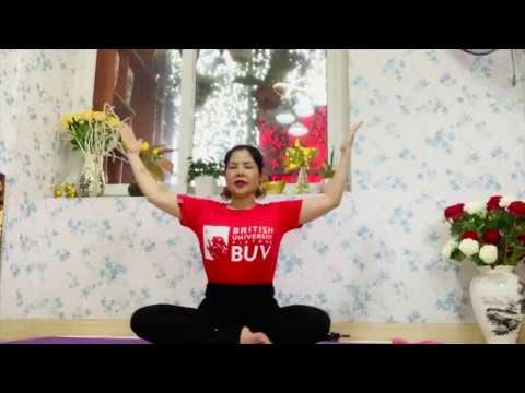 #BUVStayhomeYoga | Series tập yoga tại nhà cho sinh viên BUV | Episode 3