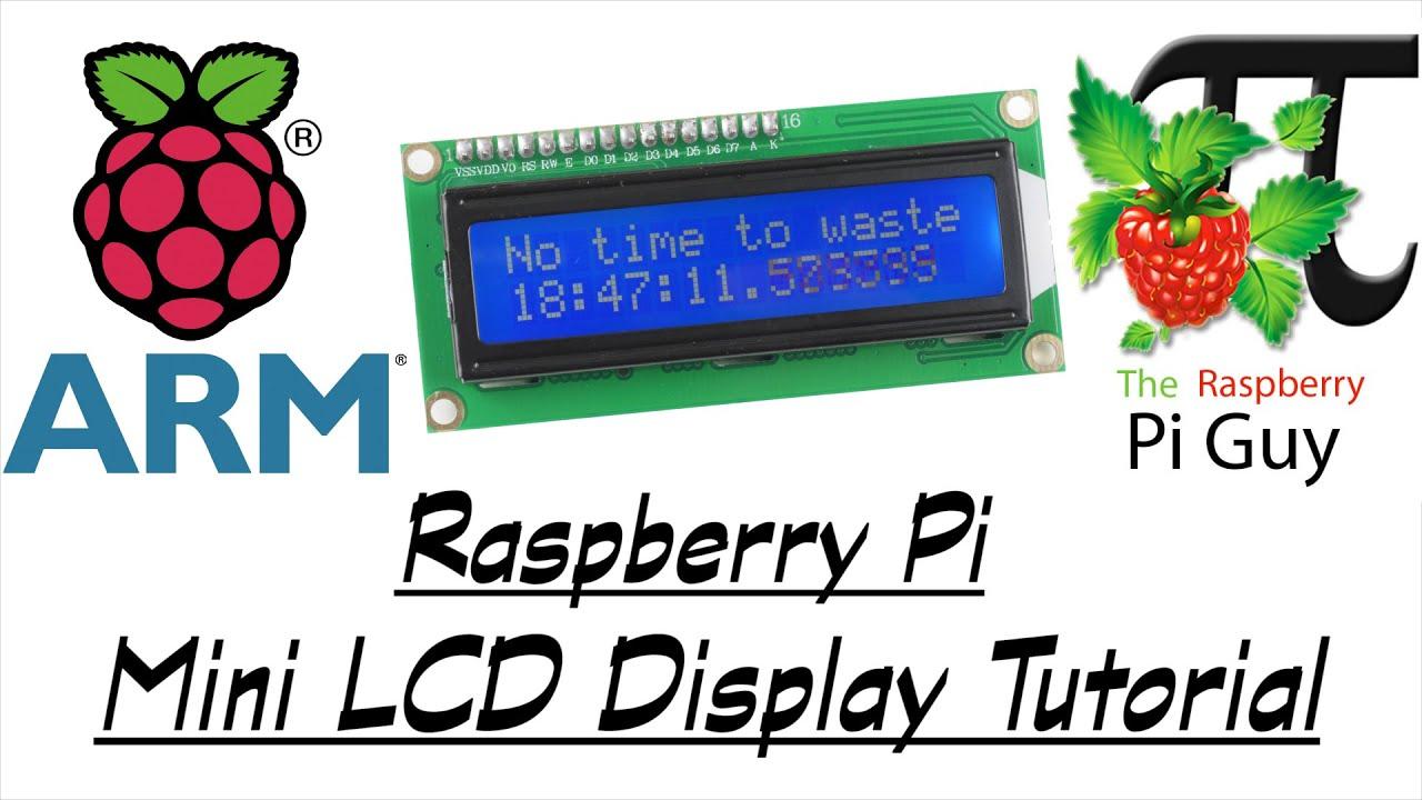 Raspberry Pi Inside Lcd