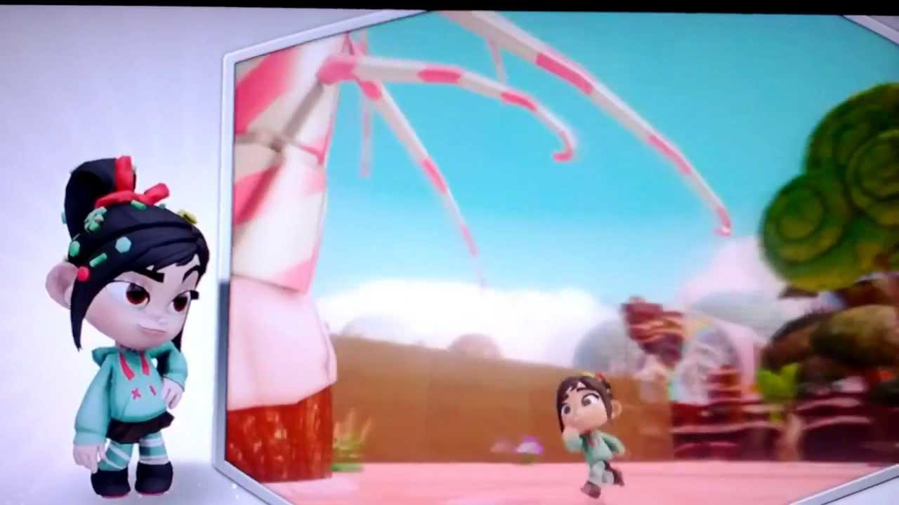 Disney Infinity Vanellope Gameplay Youtube
