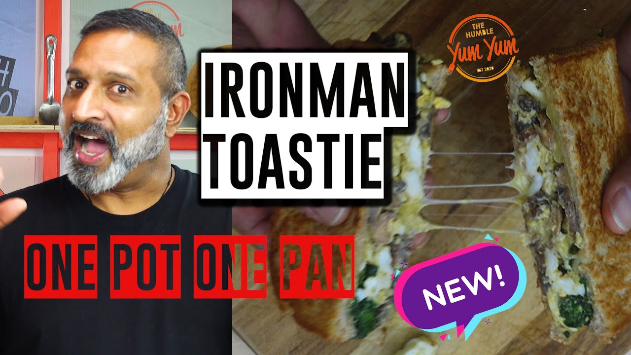 IRONMAN TOASTIE! Feed 4 for under $20! ONE POT - ONE PAN