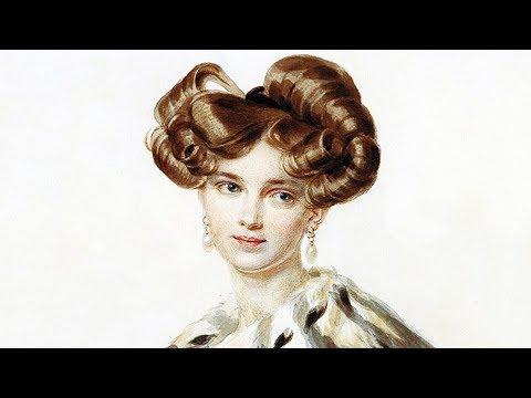 Акварельные портреты красавиц 19 века Петра Соколова