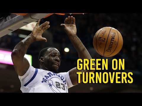Green on how turnovers correlate to the Warriors' focus