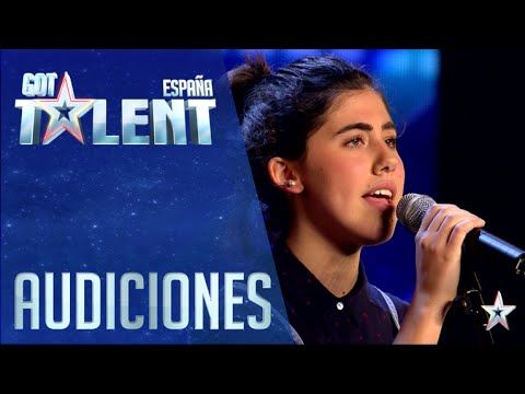 Gabriela is one step closer to her Grammy dream | Auditions 6 | Spain's Got Talent 2016