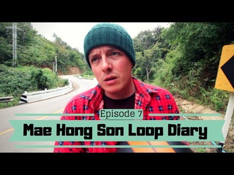 HOW TO TRAVEL THAILAND SOLO – A Backpacking Vlog Series – Mae Hong Son Loop – #7  Road out of Pai