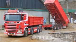 Henning Sejer Pedersen aps - Scania R500 V8 8x4 with cart at work