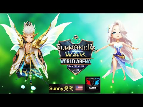 Damn Strong Oberon Feat Elenoa (Light Fairy King & Light Polar Queen) In G3 RTA - Summoners War 魔靈召喚