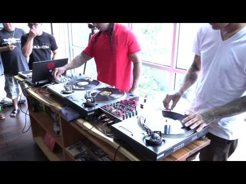 Hawaii Scratch Session tribute to DJ Swift Rock