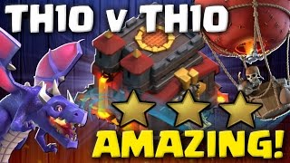 AMAZING! Best TH10 3 Star Attack Strategies 2017 | Clash of Clans