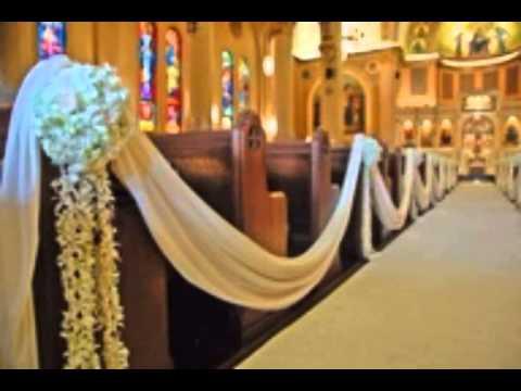 Decoration Ideas For Wedding Pews Youtube