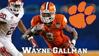 Wayne Gallman || Impact Running Back || NFL Draft Class 2017